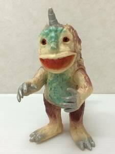◆マルサン 怪獣 アンゴラス (アイボリー) ソフビ人形 中古品 syztoy035157