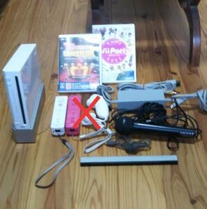任天堂 Wii カラオケ マイク パーティ セット Nintendo