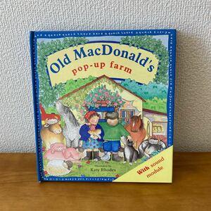 【値下げ】英語しかけ絵本 Old MacDonald's pop-up farm