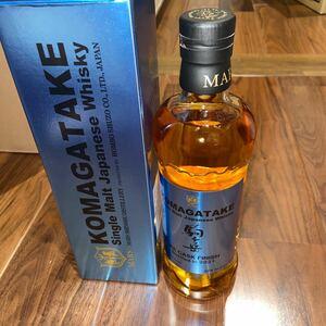 シングルモルト駒ヶ岳 IPAカスクフィニッシュ Bottled in 2021 700ml 1本 本坊酒造 マルス信州蒸留所