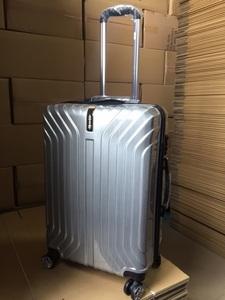 ムーク◆スーツケース 超軽量 Mサイズ キャリーバッグ ダブルキャスター シルバー2