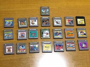 ゲームボーイ ソフト 各種 22本 セット