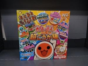 Wii 太鼓の達人Wii 超ごうか版 <コントローラー「太鼓とバチ」同梱版>