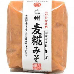 丸正醸造 信州麦糀みそ 500g×6袋(a-1685599)