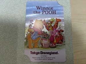 美品 未使用 クマのプーさん WinniethePooh 東京ディズニーランド/Disney/テレフォン/テレホンカード/テレカ/ティガー/ピグレット/B328811