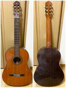 ヴィンテージ YAMAHA ヤマハ G-100D クラシックギター ガットギター NIPPON GAKKI 弦楽器 楽器 演奏 ギター ソフトケース付き
