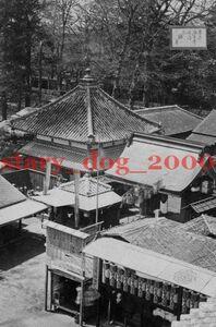 複製復刻 絵葉書/古写真 東京 浅草寺境内の不動堂 明治期 WA_106