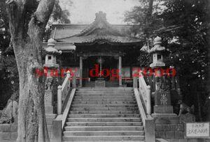 複製復刻 絵葉書/古写真 東京 浅草 待乳山聖天宮 明治期 WA_100