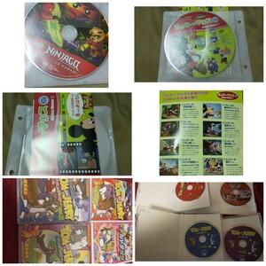 DVD6作品セット トムとジェリー ドナルドダック ミッキーマウス レゴ