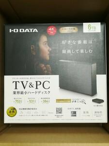 外付ハードディスク HDCZ-UTL6KC 6TB 新品未開封