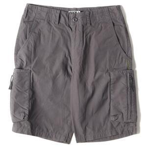 GOOD ENOUGH グッドイナフ パンツ サイドポケット付き コットンショーツ ショートパンツ 00s グレー S