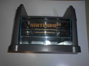 NINTENDO64 ニンテンドー64 清掃品 収納 ボックス キャリー ケース テーブル カセット ラック b