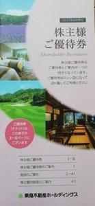 東急不動産株主優待券/2021年6月発行/東急ハンズ5%引/宿泊10枚/スポーツ6枚