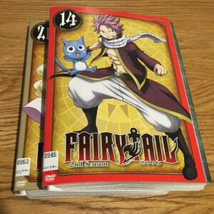 FAIRY TAIL フェアリーテイル 2nd Season 全26巻 セット レンタル落ち dvd セット です Y11.