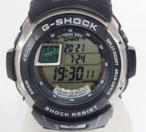 CASIO カシオ G‐SHOCK ジーショック ジースパイク G-7700-1JF クォーツ デジタル メンズ 腕時計 ラバーベルト ブラック