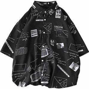 シャツ メンズ 半袖 綿 夏服 ヒップシャツ カジュアル スポーツ オシャレ