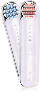 RF美顔器 超音波 多機能 イオン導入 EMS 微電流 温冷美顔器 USB充電式