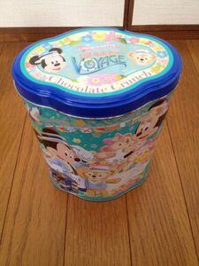 【東京ディズニーシー 2013 「ミッキーとダッフィーの スプリングヴォヤッジ」 ダッフィー 空き缶 お菓子缶