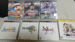 PS3ソフトセット ファイナルファンタジーX X2 13など