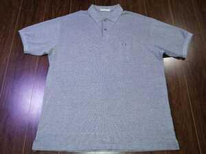 美品/Munsingwear/マンシングウェア/ポロシャツ/GOLF/ゴルフ/ウェア/DESCENTE/デサント/日本製/トップス/メンズ/半袖