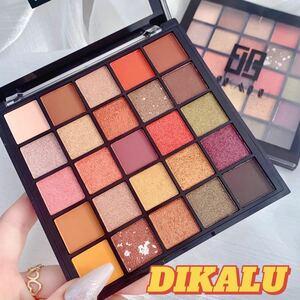 DIKALU 25色アイシャドウパレット