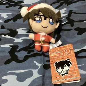 名探偵コナン 江戸川コナン キーチェーンマスコット クリスマス 未使用 タグ付き 送料無料 匿名配送 ぬいぐるみ マスコット サンタさん
