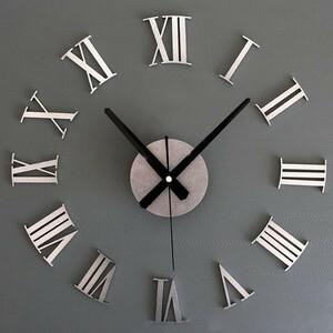 掛け時計 壁掛け時計 アナログ壁掛け インテリア モダン 新居 アクリル ミラーステッカー おしゃれ 大型時計 リビング アート時計 カフェ