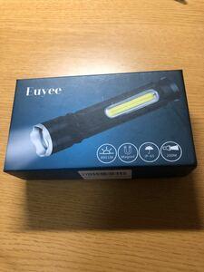 懐中電灯 ハンディライト 電池付き USB充電 災害準備 防災グッズ LED懐中電灯