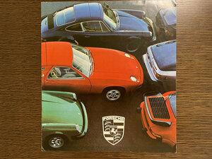 ポルシェ カタログ PORSCHE 924 911 928 英文カタログ