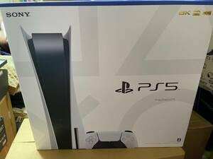 新品未開封 約2年3カ月長期保証書有 即配送 Sony PlayStation5 CFI-1000A01 通常版 ディスクドライブ 搭載モデル 本体 ps5