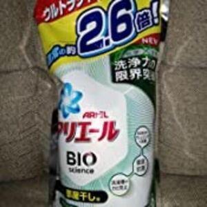 アリエール バイオサイエンス 部屋干し 洗濯洗剤 液体 抗菌&菌のエサまで除去 詰め替え 約2.6倍
