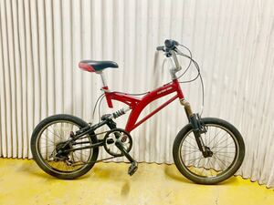 (Used goods) Mountain bikes Captain Stag 20 inches suspension, no delivery, only those who can come to.