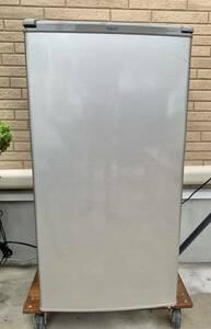 (中古品)1ドア 冷蔵庫 75L AQR-8G (S) 2019年 ブラッシュシルバー 右開き 高さ調整棚 静音化設計 オフィス。