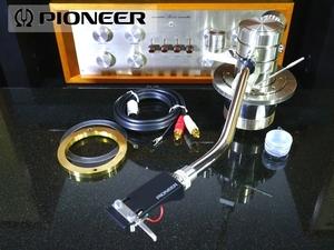 Pioneer PA-70 PL-70用 トーンアーム 純正シェル/ケーブル付属 リフターオイル補充済み Audio Station