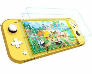 Nintendo Switch Lite 用フィルム 【2枚パック】 TopACE 硬度9H 超薄0.3mm 2.5D 耐衝撃