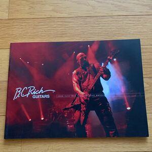 B.C.RICH エレキギター ベース カタログ 28ページ 汚れあり キョーリツ 2008 モッキンバード デス ビッチ ガンスリンガー