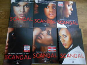 [DVD] Scandal スキャンダル  シーズン1~シーズン7 輸入盤 ケリー・ワシントン
