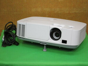 [A11543]☆彡残暑セール☆ミ NEC NP-P401WJL-N3 液晶プロジェクター WXGA出力 4000ルーメン 簡易チェック済み