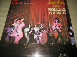 rolling stones / got live (if you want it) (フランス限定盤送料込み!!)