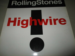 """rolling stones / highwire (UK盤12""""シングル送料込み!!)"""