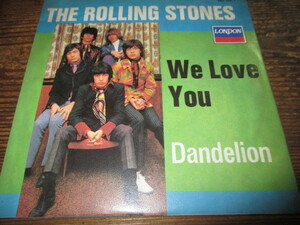 rolling stones / we love you (ドイツ盤送料込み!!)