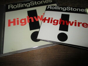 rolling stones / highwire (CDシングル2枚セット送料込み!!)