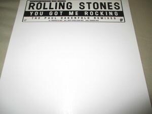 "rolling stones / you got me rocking (RARE UK12""シングル送料込み!!)"