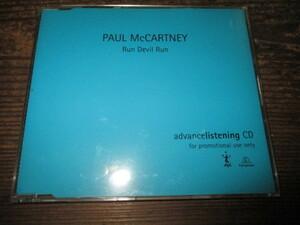 paul mccartney / run devil run (UKCD送料込み!!)