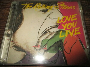rolling stones / love you live (US盤2CD送料込み!!)