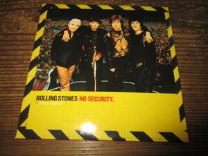 rolling stones / no security sampler (EU5曲入りCD送料込み!!)