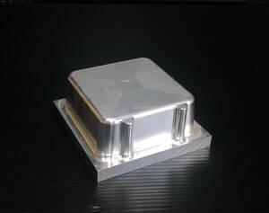 ●アルミ端材 140mm×140mm×厚60mm 2.5kg アルミブロック ② アクセサリーやハンドメイドの加工材にもオススメ 管理:05