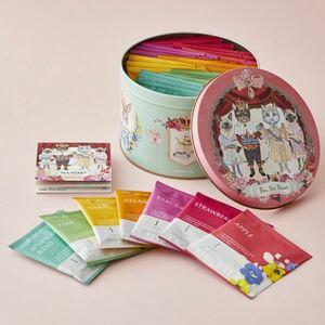 AfternoonTea アフタヌーンティー ・Tea for Peace Box ナタリーレテ 紅茶 チケット 缶