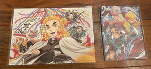 無限列車編 最終上映特典 煉獄杏寿郎のバースデーカードと、第6弾イラストカード2枚セット