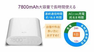 SIMフリーモバイルWi-FiルーターBattery MF855日本版 おまけ付